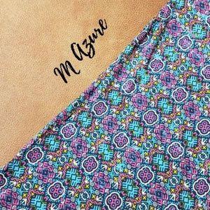 Lularoe M Azure Skirt